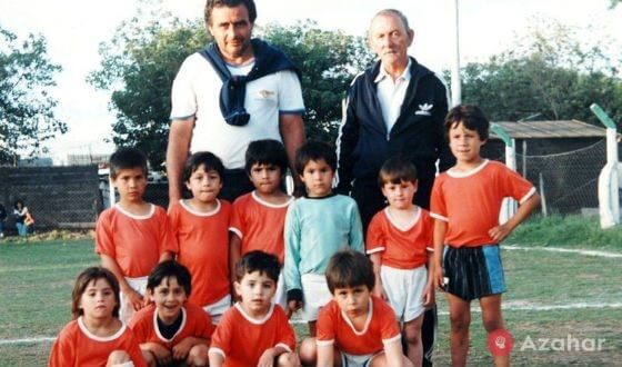The Team In Which Messi Started Playing Football