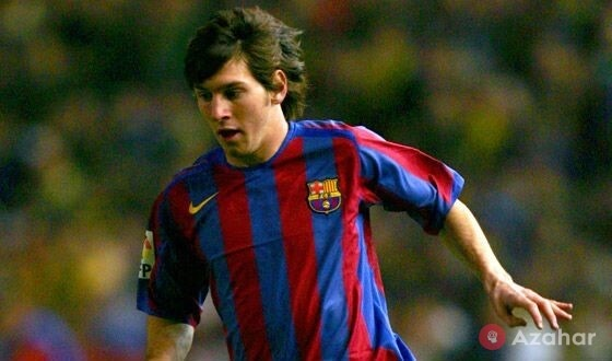 Young Messi The Debut In The Barcelona