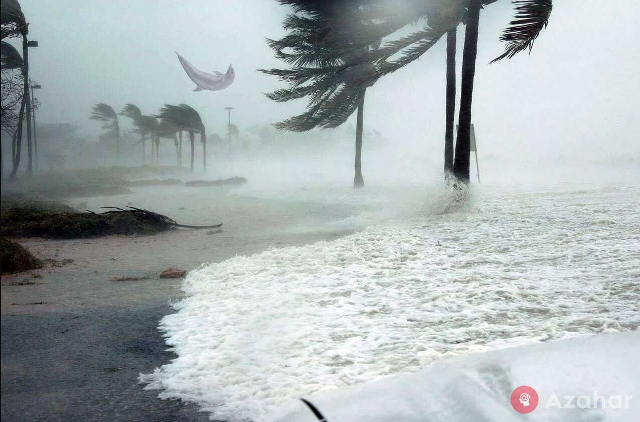 Water Contained In One Hurricane