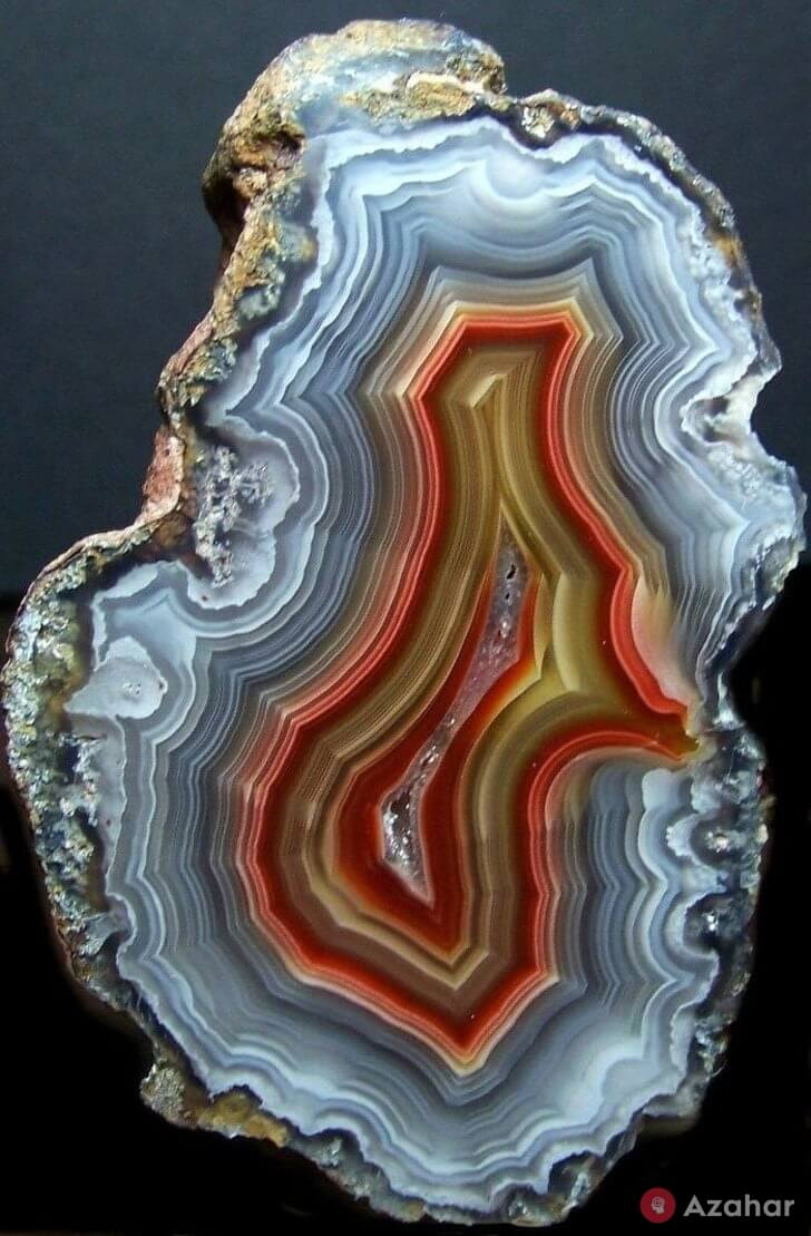 Agate In Section