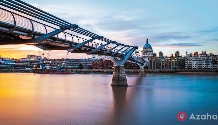 The Millennium Bridge in London: how an engineering error almost led to tragedy