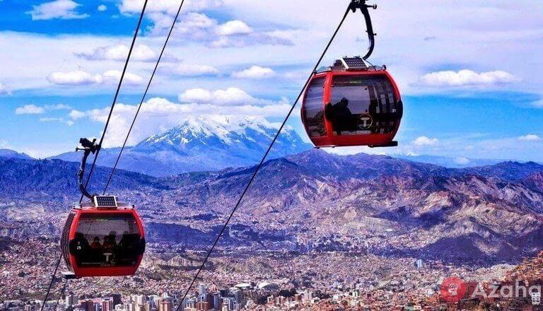 Delightful La Paz: the world's longest cable car