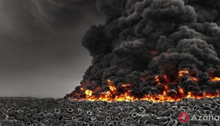 Sulaibiya – the most grandiose Tire dump in the world