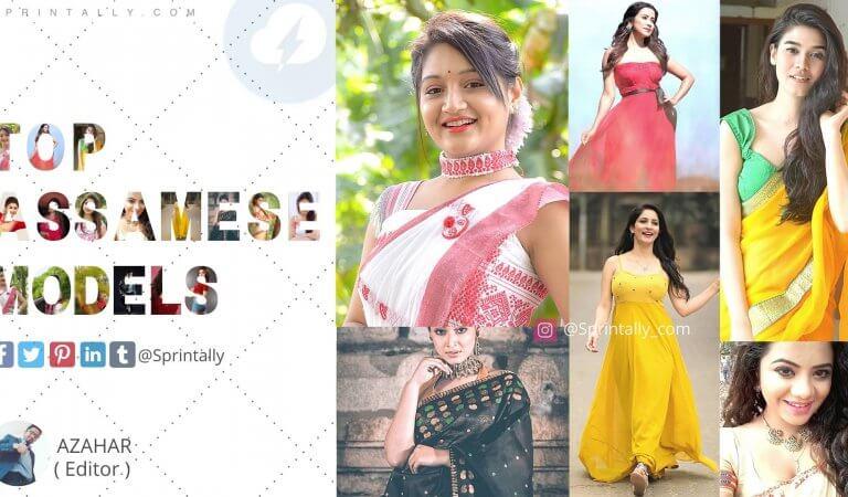 Top 25 most beautiful Assamese models