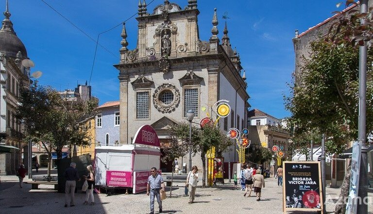 Braga – Portuguese, Rome, where they love to keep the doors open