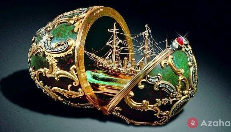Eggs with a surprise: what's inside the Faberge eggs