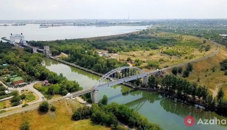 """The canal """"Eurasia"""" where going to build a new canal from the Caspian to the Black sea"""