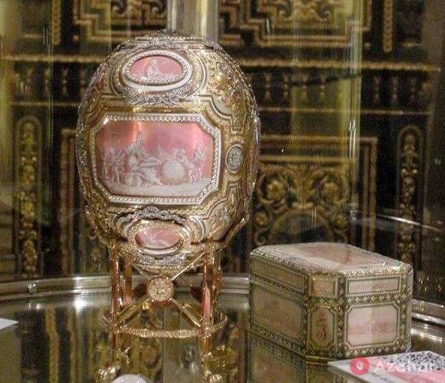Faberge Egg Catherine the Great
