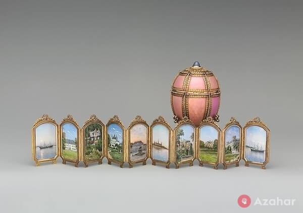 Faberge Egg Danish Palaces