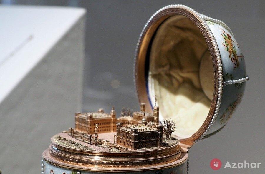 Faberge Egg Gatchina Palace