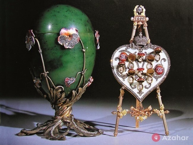 Faberge Egg Pansies