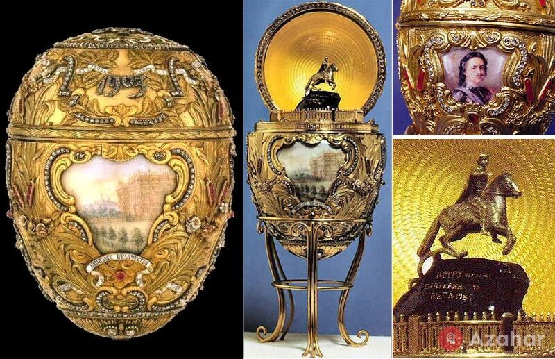 Faberge Egg Peter the Great
