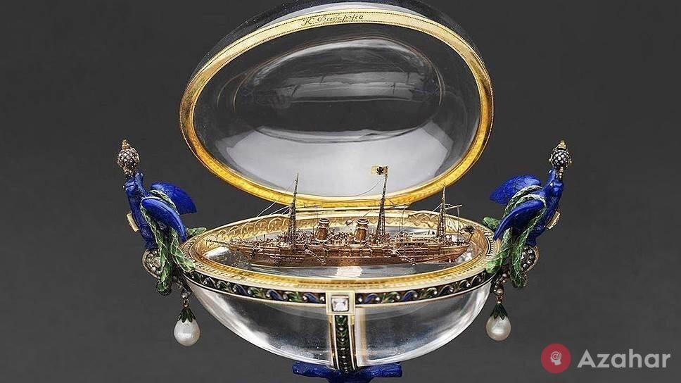 Faberge Egg Standard yacht