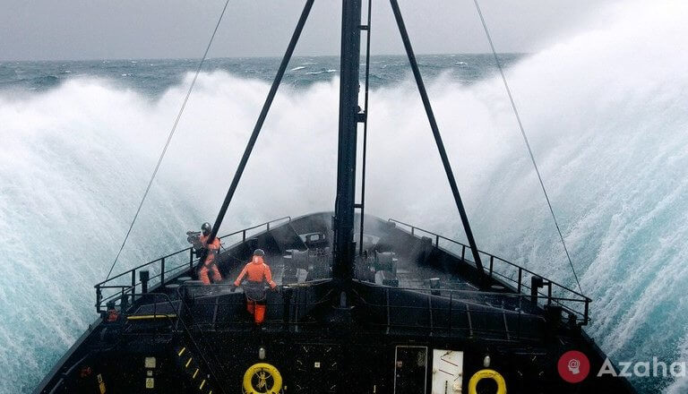 Drake Strait – The most stormy place on the planet