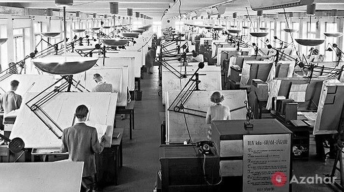 vintage photos life before autocad