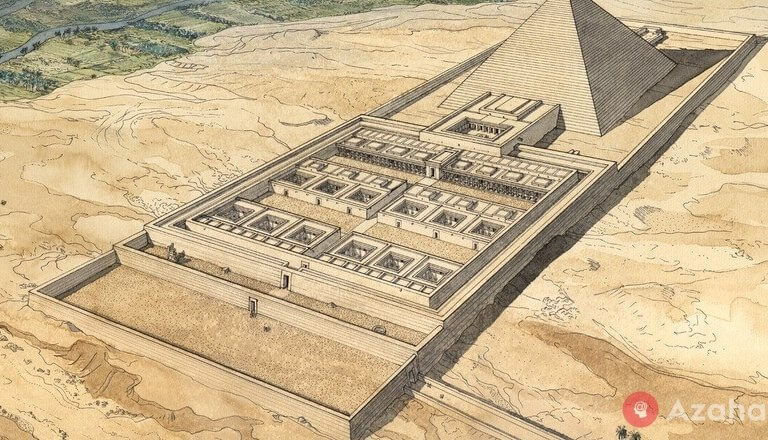 The mysterious labyrinth of amenemhat III in Ancient Egypt