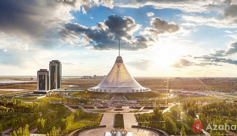Khan Shatyr in Astana: how was it possible to build such a grand tent