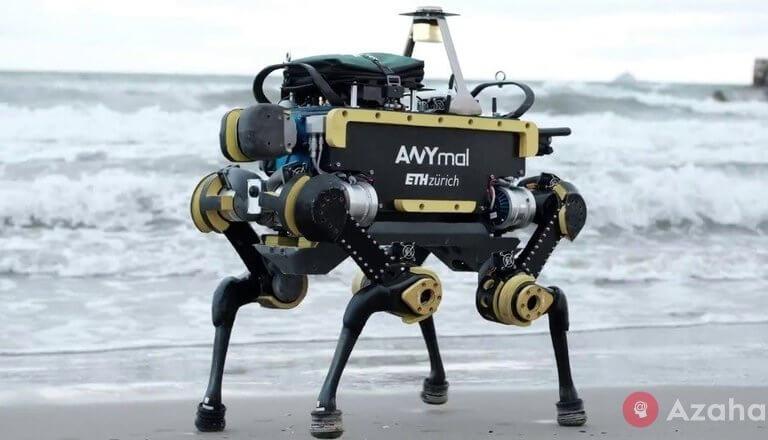 Swiss robot took a job on the marine platform