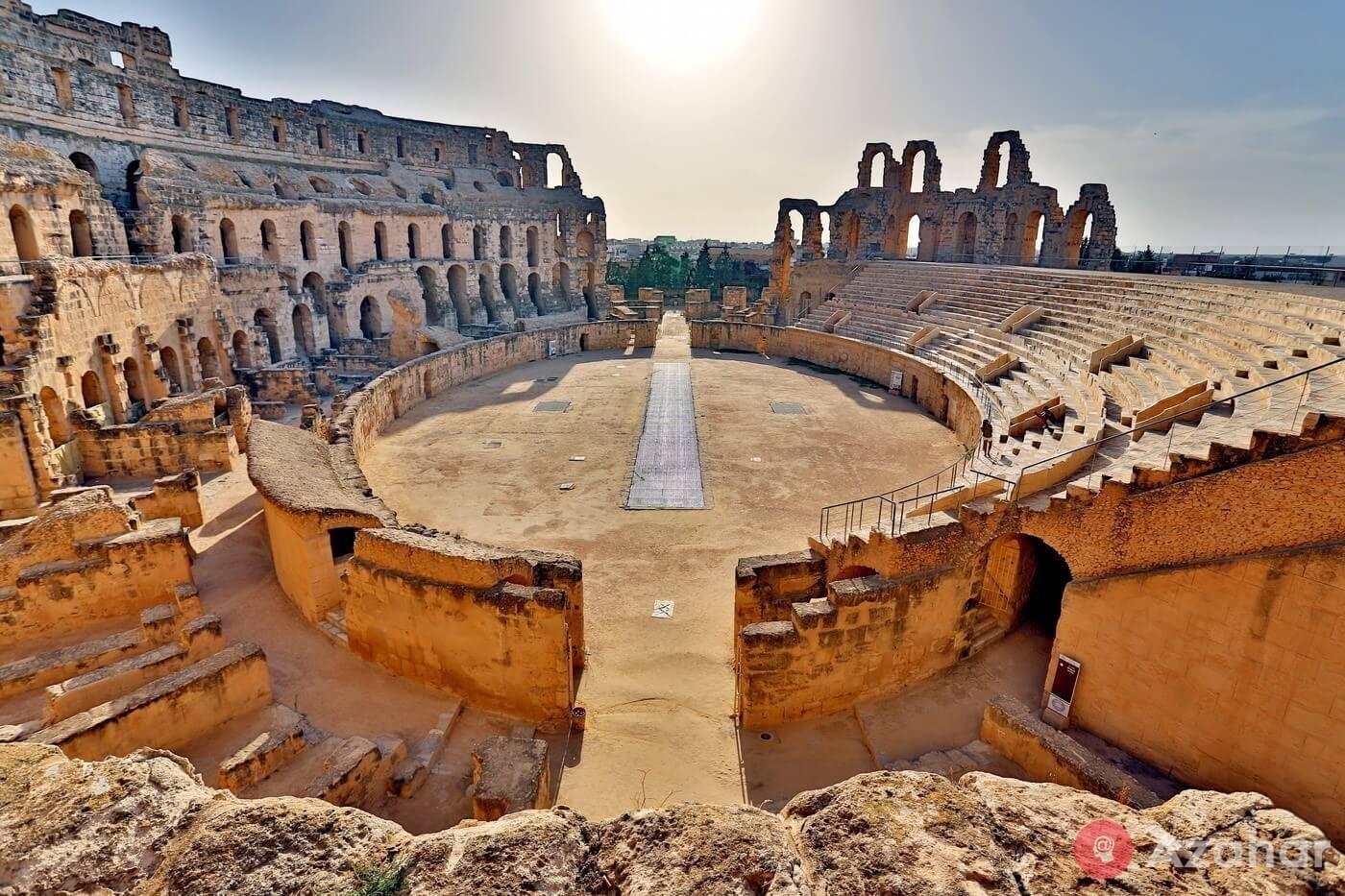 The Amphitheatre At El Jem, Tunisia