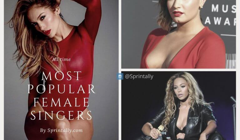 Top 10 most popular female singers