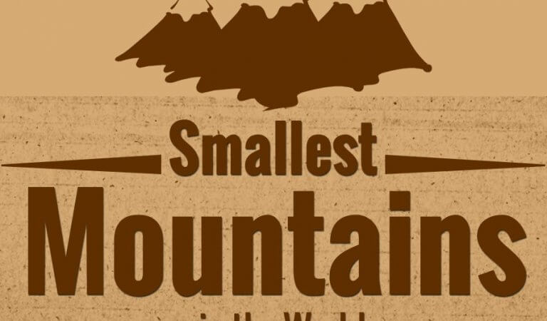 Top 10 smallest mountains in the world