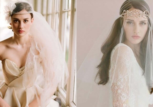 The perfect bride: we select a wedding headdress