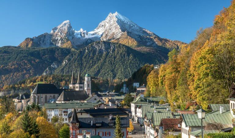Top 10 highest mountains in Germany