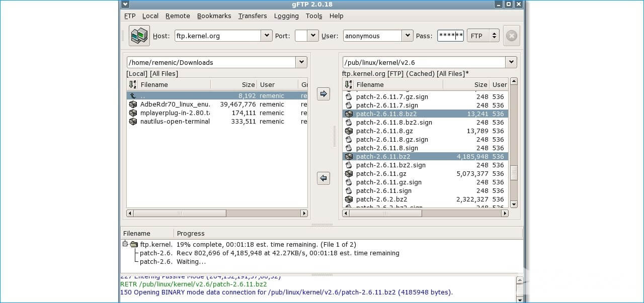 Gftp Client For Linux Os