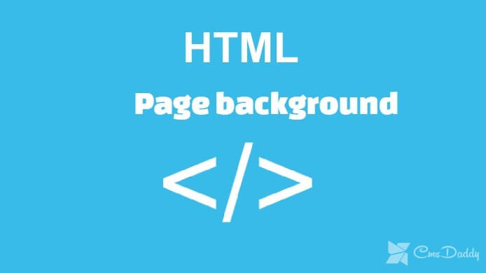 4 Approaches to creating an HTML page background