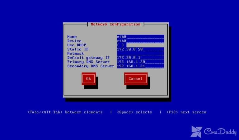 How to setup network adapter in CentOS?