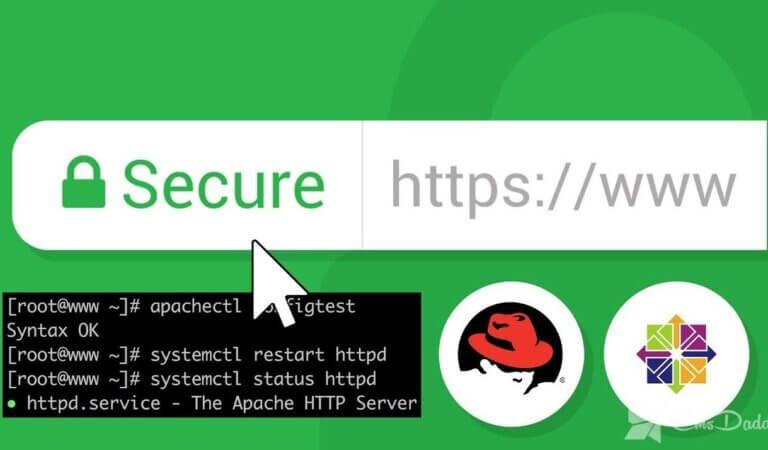 Configuring ssl in apache on CentOS
