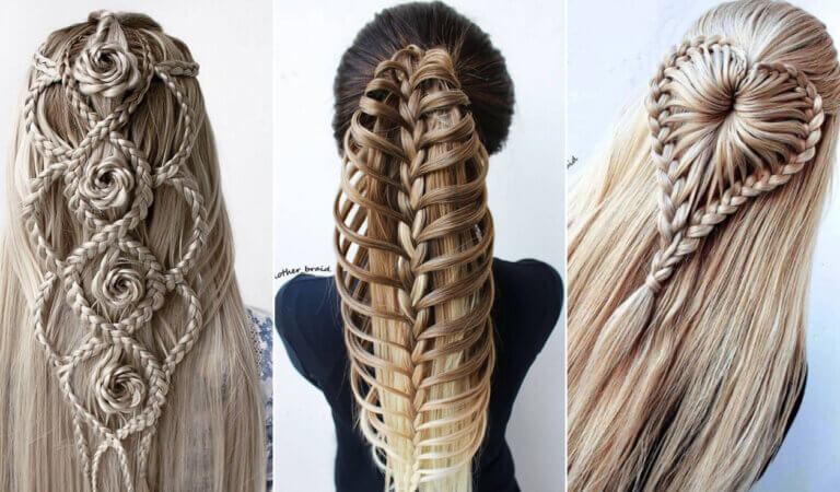 You've probably never seen such special hairstyles from long hair