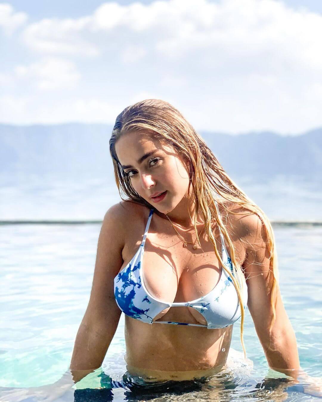 Nicolle Figueroa On Swimming Pool