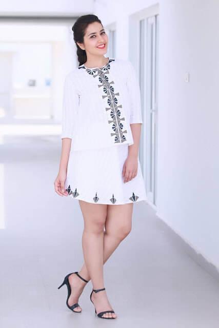 Raashi Khanna With Beautiful Pose