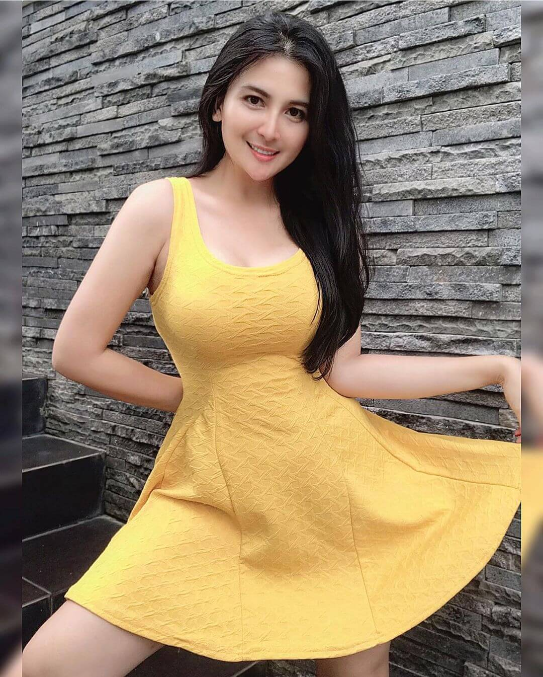 Dianna Dee Starlight In Yellow Dress