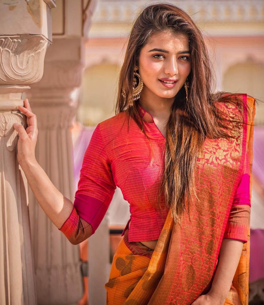 Ketika Sharma On Traditional Dress