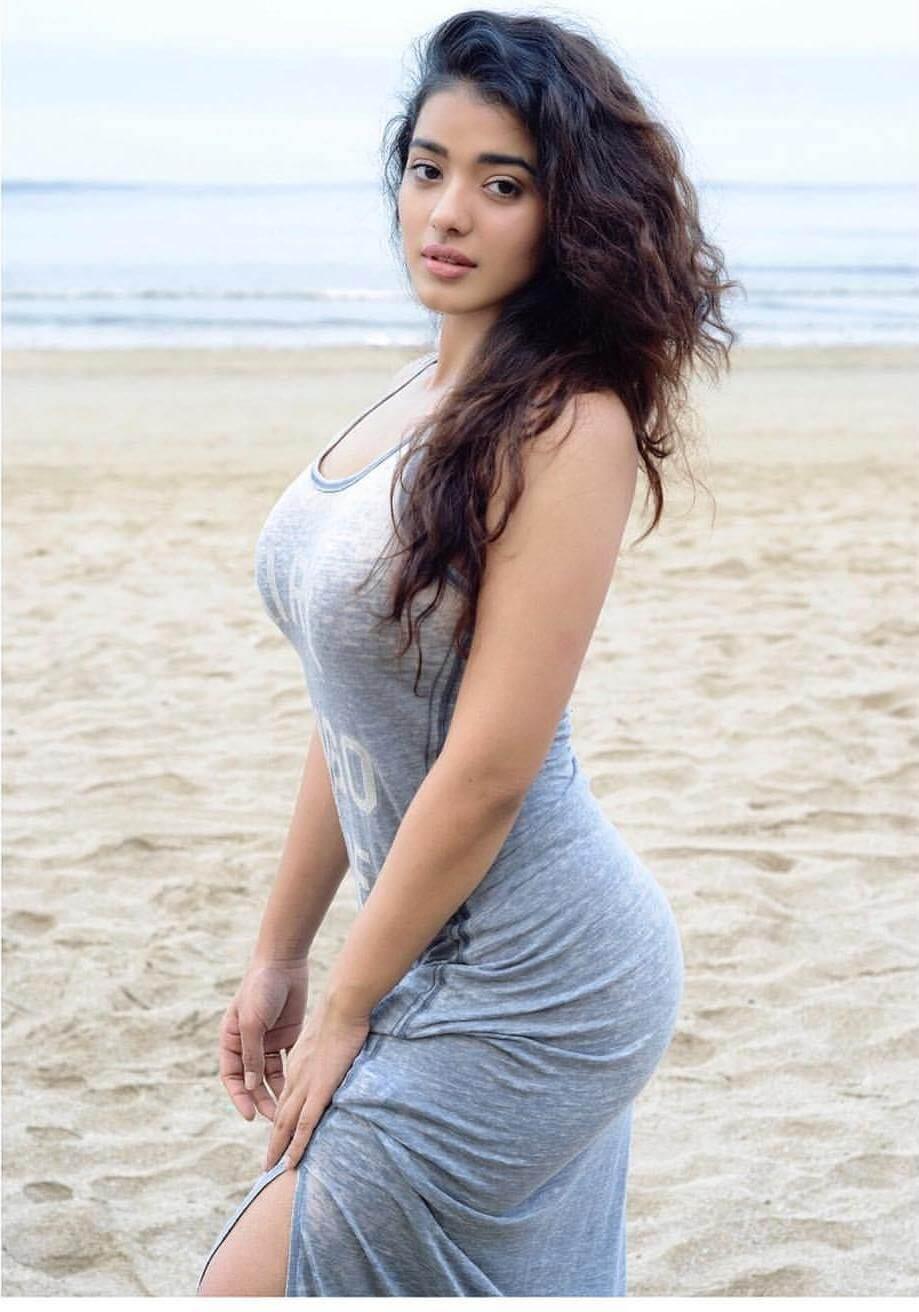 Ketika Sharma On Beach