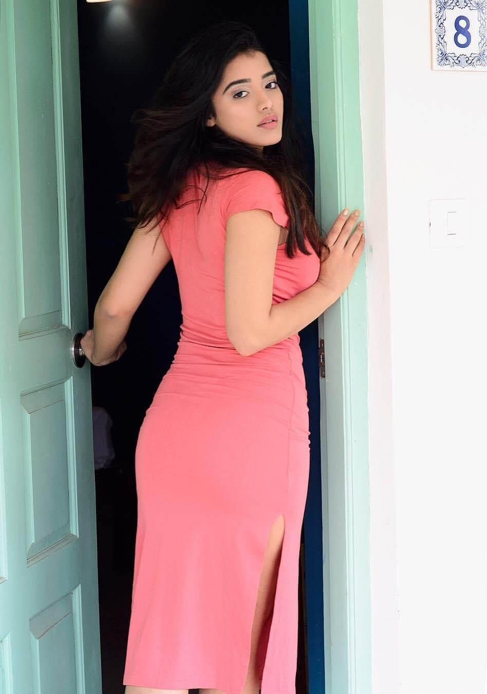Ketika Sharma On Pink Dress