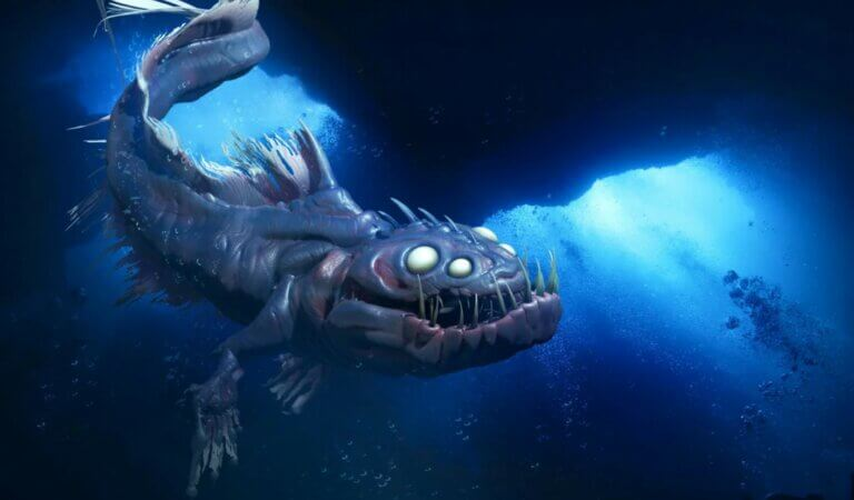 10 monsters that were discovered in the depths of the ocean