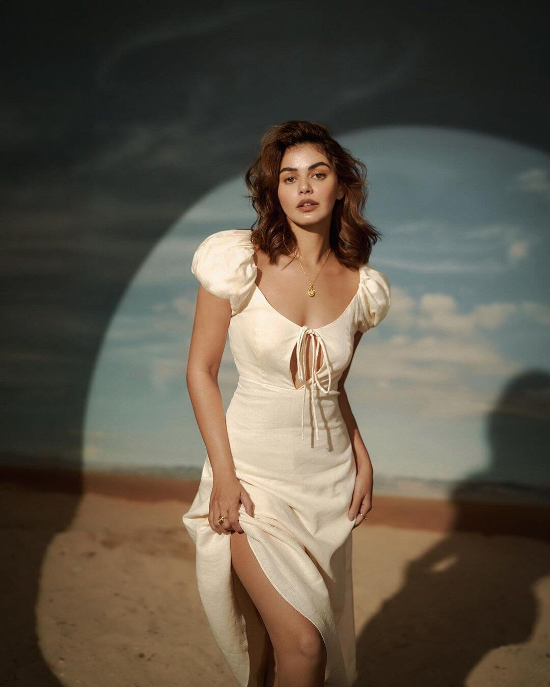 Janine Gutierrez In White Dress