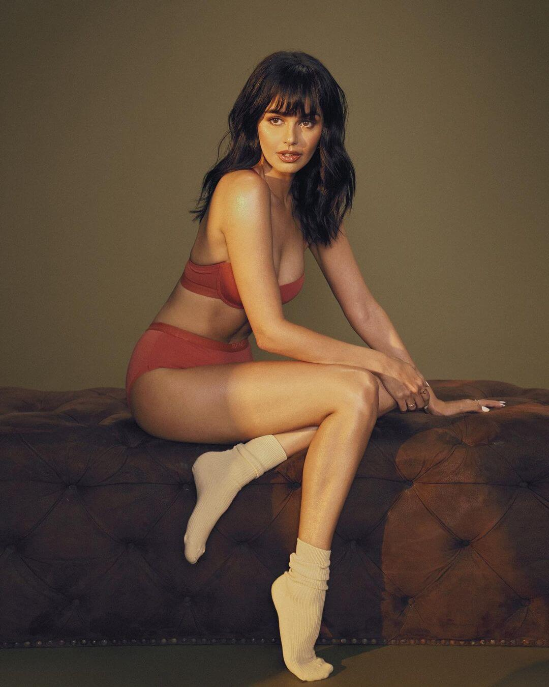 Model Janine Gutierrez In Bikini
