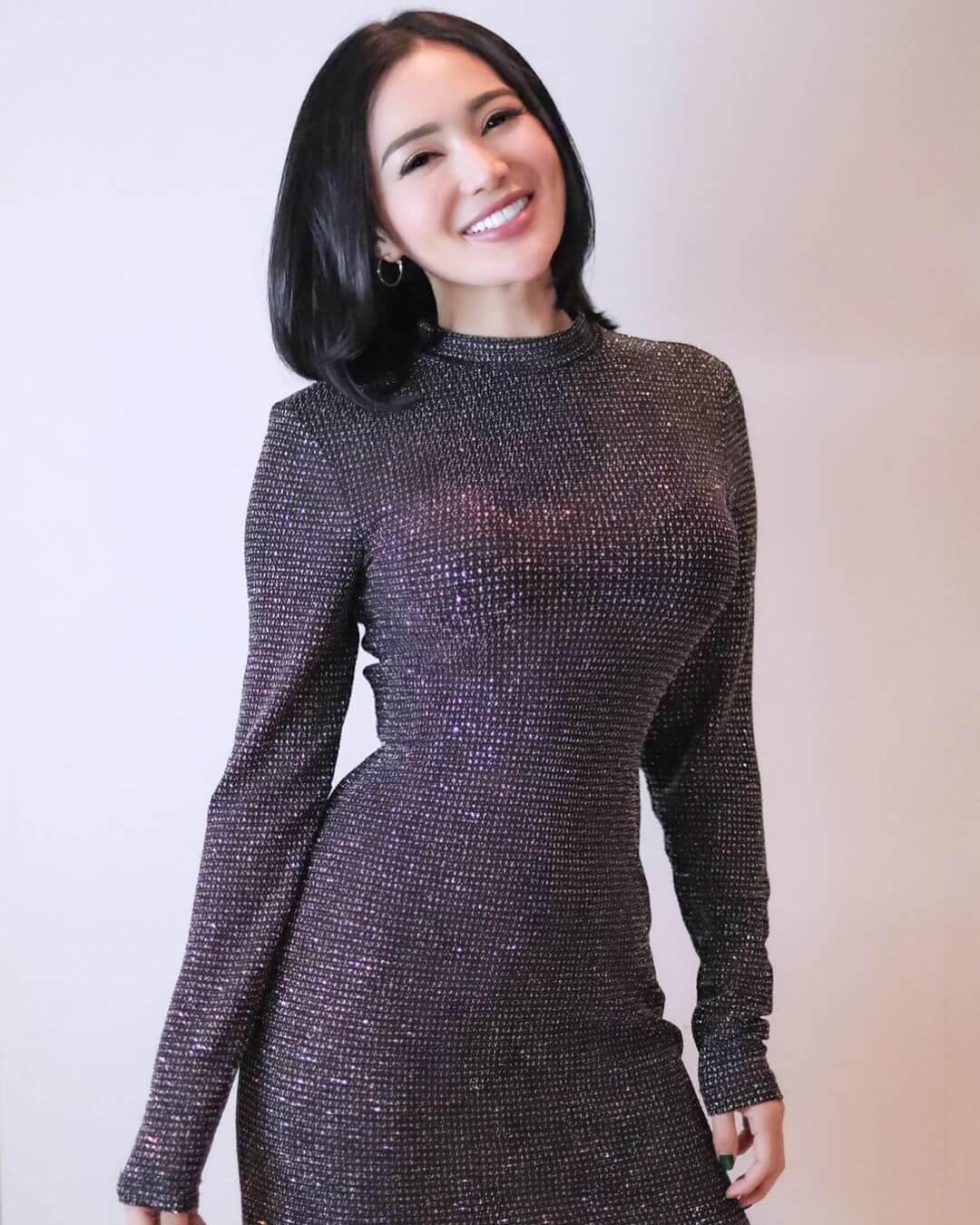 Wika Salim In Black Dress